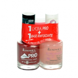 Rimmel London - Lycra Pro Nail Polish + Stronger Base Coat - 24ml