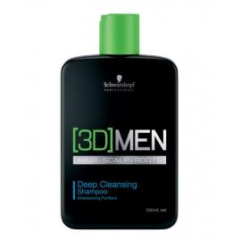 Schwarzkopf - 3DMEN Deep Cleansing Shampoo - 250ml