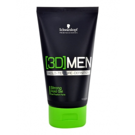 Schwarzkopf - 3DMEN Strong Hold Gel - 150ml