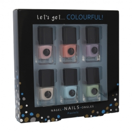 2K - Let´s Get Colourful! Pastels Nail Polish