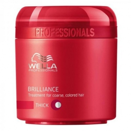 Wella - Brilliance Mask Thick Hair - 150ml